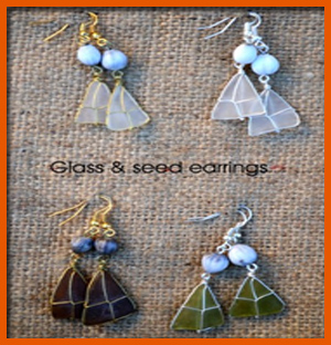 glass-&amp-seed-earrings